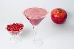 Pomegranate extract, food Royalty Free Stock Photos