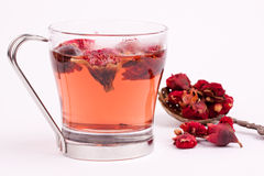 Pomegranate flower tea Royalty Free Stock Image