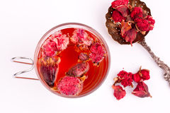 Pomegranate flower tea Stock Image