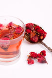 Pomegranate flower tea Stock Photos