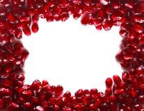 Pomegranate frame Stock Photos