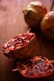 Pomegranate fresh fruit Stock Photography