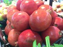 Pomegranate fresh Stock Images