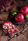 Pomegranate. A fresh and tasty Pomegranate stock photo