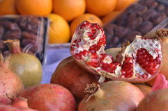 Pomegranate and fruit Royalty Free Stock Photos