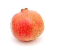 A pomegranate fruit. A isolated pomegranate isolated white Stock Photo
