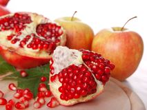 Pomegranate fruit Stock Image