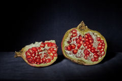 Pomegranate fruit Stock Images