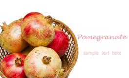 Pomegranate fruit Royalty Free Stock Photos