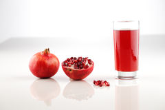 Pomegranate is a fruit associated with most of the middle East. Organic pomegranate is a fruit associated with most of the middle East, particularly Turkey & Stock Photo