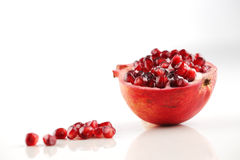 Pomegranate is a fruit associated with most of the middle East Stock Images