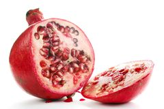 Pomegranate fruit Royalty Free Stock Images