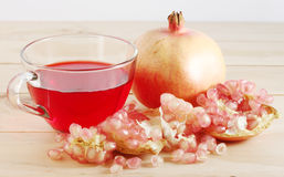 Pomegranate. Fruit is eaten as a sweet or sour and sweet  is a fruit that have health benefits.  juice high in vitamin C royalty free stock photography