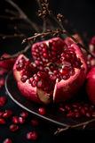 Pomegranate. Is a fruit that gives you a complete package of nutrition Royalty Free Stock Photo