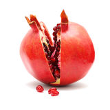 Pomegranate fruit and grains Stock Photo