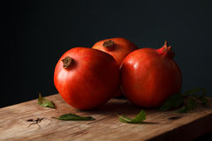 Pomegranate fruit healthy food fresh organic Royalty Free Stock Photography