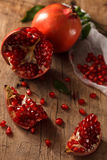 Pomegranate fruit healthy food fresh organic Royalty Free Stock Images