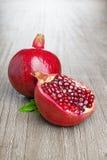 Pomegranate fruit Stock Images