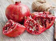 Pomegranate fruit Stock Photos