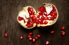 Pomegranate fruit, still life Stock Photography