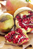 Pomegranate fruits Royalty Free Stock Images