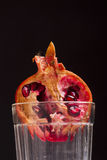 Pomegranate in a glass Royalty Free Stock Photography