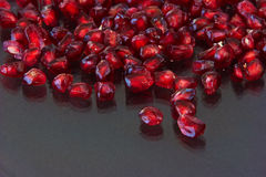 Pomegranate grains Stock Photography