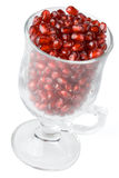 Pomegranate grains Royalty Free Stock Images