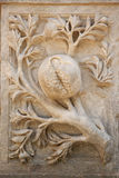 Logo Pomegranate of Granada Andalusia Royalty Free Stock Photo