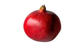 Pomegranate in gray background Royalty Free Stock Photography