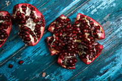 Pomegranate Grenadine with Seeds Royalty Free Stock Photography