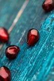 Pomegranate Grenadine Seeds Royalty Free Stock Images