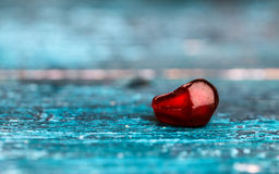 Pomegranate Grenadine Seeds Royalty Free Stock Photos