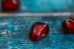 Pomegranate Grenadine Seeds Stock Photos