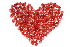 Free Pomegranate Heart Royalty Free Stock Photography - 4257787