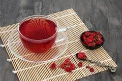Pomegranate Herb Flower Tea Royalty Free Stock Photo