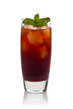 Pomegranate Iced Tea Royalty Free Stock Photos