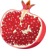 Pomegranate icon Stock Images