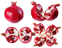 Pomegranate, isolate on a white background. Stock Images