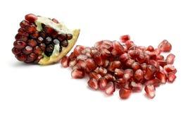 Pomegranate isolated Stock Photo