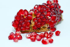 Pomegranate  isolated Stock Image