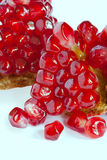 Pomegranate isolated Stock Photo