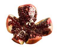 Pomegranate, isolated Stock Image