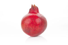 Pomegranate isolated. Royalty Free Stock Photo