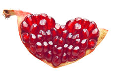 Free Pomegranate Isolated Royalty Free Stock Photo - 35589115