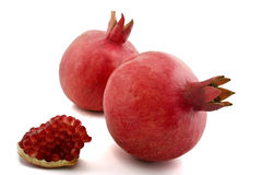 Pomegranate isolated Royalty Free Stock Photo