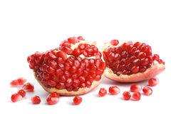 Pomegranate isolated Stock Photography