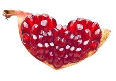 Pomegranate isolated Royalty Free Stock Photo