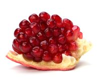 Pomegranate isolated on white background Stock Photography
