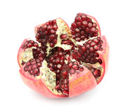 Pomegranate isolated on white background Stock Image